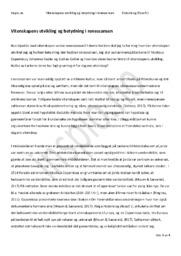 Vitenskapens utvikling og betydning i renessansen | Historie & filosofi