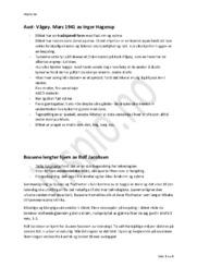 Hjelpeark til fagsamtale om norske dikt | Notat