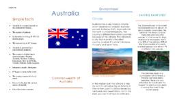 Australia | Oppgave