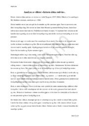 Fattern Elska Rødvin | Arild Nyquist | Analyse
