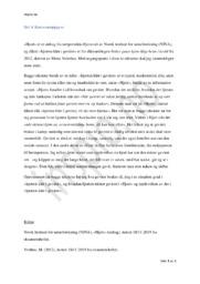 «Hjort» & «Hjorten klør i geviret» | Analyse | Kortsvarsoppgave