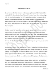 Alle Vi   Analyse   Marit Kaldhol