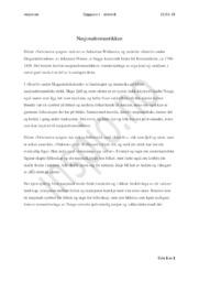 Nasjonalromantikken | Analyse