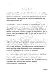 Hellemyrsfolket | Analyse | Amalie Skram