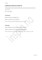 Leddsetninger med løst sammensatte verb | Tysk Oppgave
