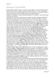 Psykologi | Drøftingsoppgave