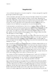 Ytringsfrihet SIAN | Oppgave