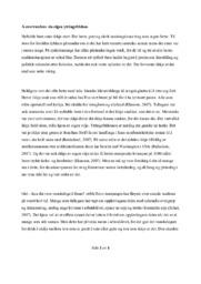 Å overvurdere sin eigen ytringsfridom | Nynorsk essay