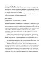 Bindinger, oppbygning og egenskaper | Kjemi