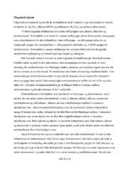 Organisk kjemi | Fagtekst