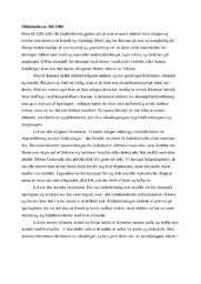 Middelalderen 500-1500 | Drøfteopgave