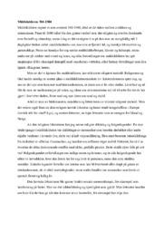 Middelalderen 500-1500 | Renassanse & humanisme