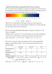 Måle pH med ulike metoder & beregne pH i sterke & syrer