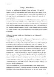 Norge i dansketiden | Historie Oppgave