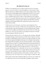 Akt | Hilde Lindset  | Novelletolkning