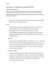 Markedsføring & Ledelse | Kapittel 4 – Situasjonsanalyse