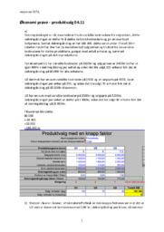 Produktvalg 04.11 | Økonomi Prøve