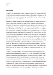 «Falken» av Giovanni Boccaccio   Analyse