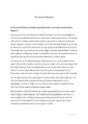 The Social Dilemma | Samfunnsfag