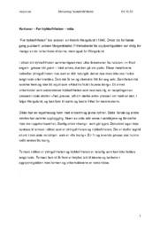 «For trykkefriheten» & «Dansar du?»   Kortsvar/Langsvar skrivedag