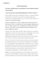 Språk og Samtaleanalyse   Kultur og Kommunikasjon