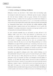 Muligheter og Begrensninger | Kultur og Kommunikasjon