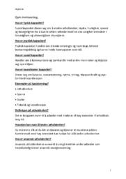 Gym innlevering | Kroppsøving