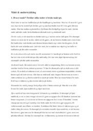 Makt & Undertrykking |Kommunikasjon og Kultur