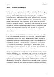 Senterpartiet | Politikk og menneskerettigeter