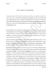 «Og så kom sommeren» | Analyse | Gro Dahle