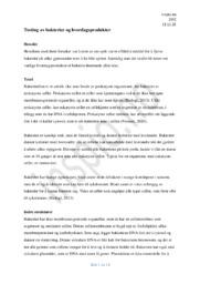 Bakterie Rapport | Biologi