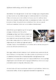 Digitalisert skolehverdag, positivt eller negativt? | Mobilbruk i skolen