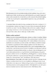 Hvordan påvirker mediene samfunnet? | Oppgave