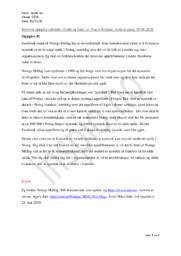«Utakt og tone» | Analyse | Yngve Kvistad