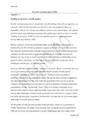 Tydelege arr på neven | Analyse | Jon Fosse