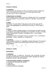 Norsk Kompendium | Norsk Noter