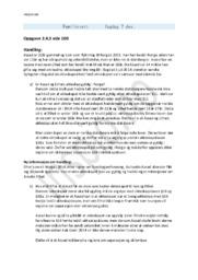 Familierett | Oppgave 2.4.3 side 100 | Rettslære