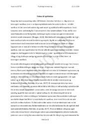 Veien til splittelse | Psykologi innlevering