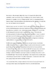 Menneskerettigheter – Fagartikkel | Oppgave