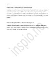 Intervalltrening | Kroppsøving oppgave