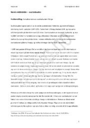 Svartedauden i Norge – Konsekvensene | Historie oppgave