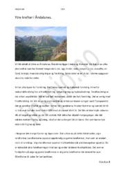 Ytre krefter i Åndalsnes |Geografi innlevering
