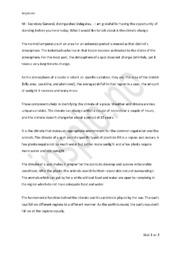 UN Speech | Engelsk innlevering