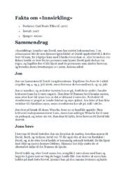Fakta om Innsirkling | Norsk
