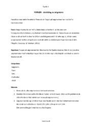 FORSØK | strekking av seigmenn