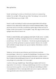 Nattvindauge | Norsk oppgave