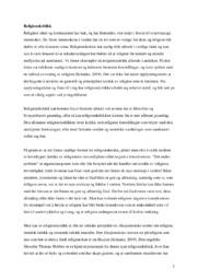 Religionskritikk | Relgion og etikk oppgave