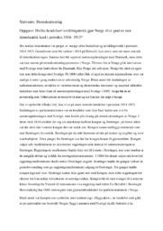 Det norske demokratiet | Demokratisering