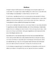 Blodhevn | Norsk oppgave