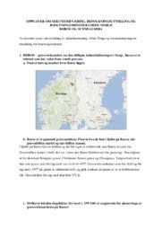Geografi | Sunndalen og røros oppgave